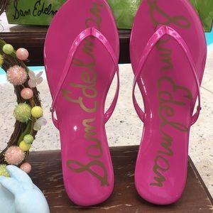 Sam Edelman Oliver Patent Leather Sandals